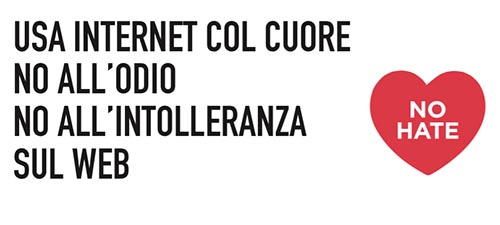 Stop alla violenza sul web: No Hate Speech