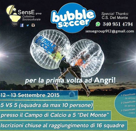 angri Bubble soccer torneo