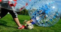 Per la prima volta ad Angri il Bubble Soccer!