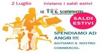 Dal 2 luglio 2015 Saldi estivi : facciamo i nostri acquisti ad Angri