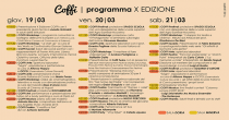 Coffi2015 - Presentato il programma della decima edizione.