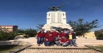 Angri. Volontari ripuliscono il monumento ai caduti