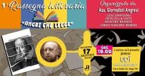 """Venerdi' 17 gennaio nuovo appuntamento con la rassegna letteraria """"Angri che legge"""""""
