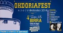 Angri: dal 4 all'8 settembre Okdoriafest 2014 la IV Edizione della Festa della Birra