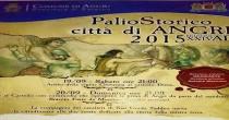 Ritorna il Palio storico Citta' di Angri: sabato 19 e domenica 20 settembre