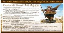 13-14-15 maggio Parrocchia Regina Pacis: Festa di Sant'Isidoro Agricoltore