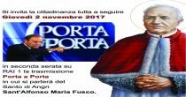 Porta a Porta, Bruno Vespa parlera' di Sant'Alfonso Maria Fusco
