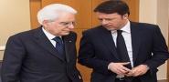 Il Presidente Mattarella e Renzi a Pompei per la mostra di Mitoraj