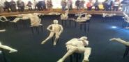 Pompei: in diretta Tac a due calchi delle vittime della tragedia del 79 d.C.