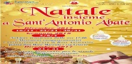 Natale insieme a Sant'Antonio Abate 2017:  dal 16 dicembre 2017 al 07 gennaio 2018