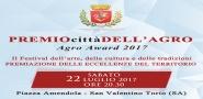 Premio citta' dell'Agro il 22 luglio a San Valentino Torio (SA)