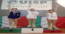 Giulia Mauri della Skateland Angri si aggiudica il titolo di campionessa nazionale Uisp