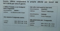 Angri: Chiuso per circa sei giorni l'ufficio Postale di piazza Annunziata